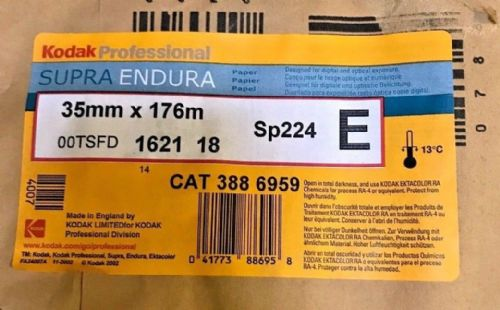 Kodak Endura 35mm x 176m roll of RA4 colour paper for contact printing 35mm neg